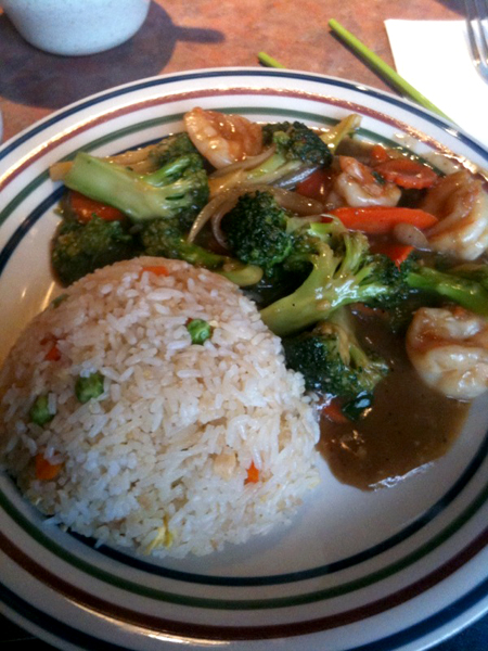 Shrimp with Brocolli